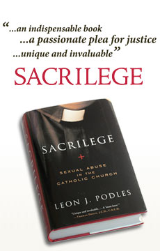 Sacrilege, by Leon Podles. Published by Crossland Foundation